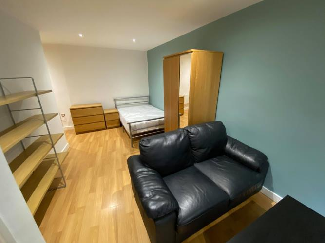 Studio Apartment<br>103 Space, 8 Broomhall Street, Sheffield, City Centre, Sheffield S3 7SY