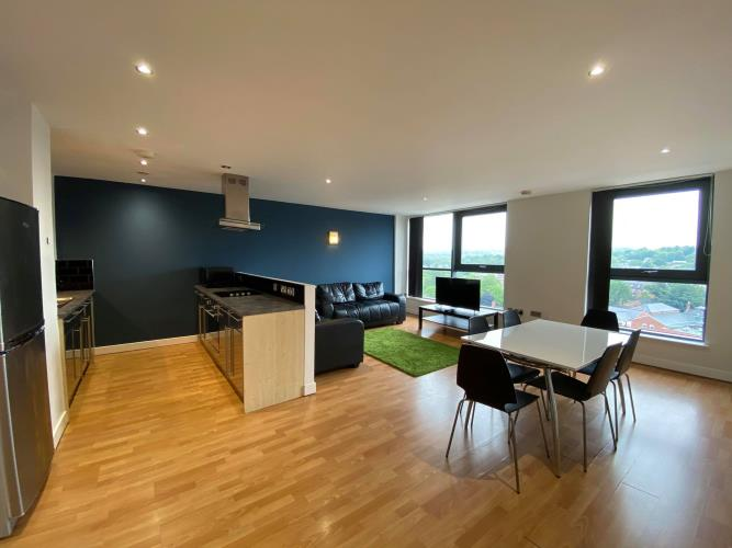 2 Bedroom Penthouse Apartment<br>602 Tower, 7 Cavendish Street, Sheffield, City Centre, Sheffield S3 7SH