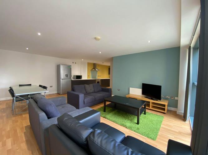 6 Bedroom Apartment<br>304 Space, 8 Broomhall Street, Sheffield, City Centre, Sheffield S3 7SY