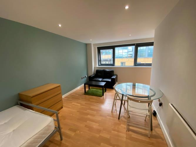 Studio Apartment<br>602 Cube, 2 Broomhall Street, City Centre, Sheffield S3 7SD