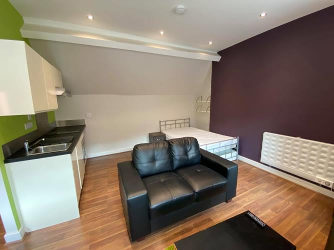 Deluxe Studio Apartment<br>214 Huttons Building, 2 Orange Street, City Centre, Sheffield S1 4AQ