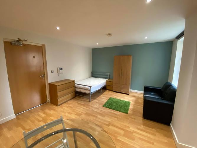 Studio Apartment<br>302 Reflect, 19 Cavendish Street, Sheffield, City Centre, Sheffield S3 7ST