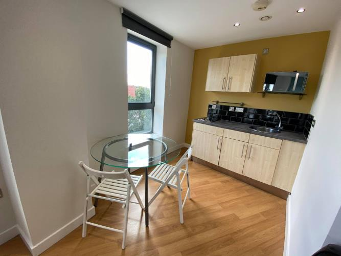 Studio Apartment, West One<br>206 Cube, 2 Broomhall Street, City Centre, Sheffield S3 7SW