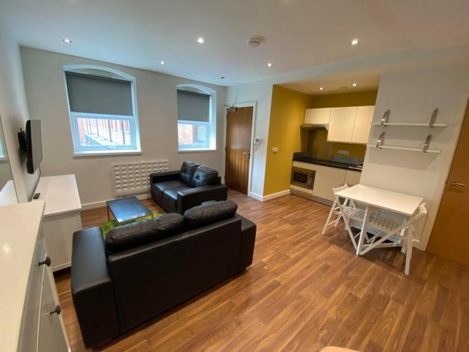 Deluxe Studio Apartment<br>G13 Huttons Building, 2 Orange Street, City Centre, Sheffield S1 4AQ