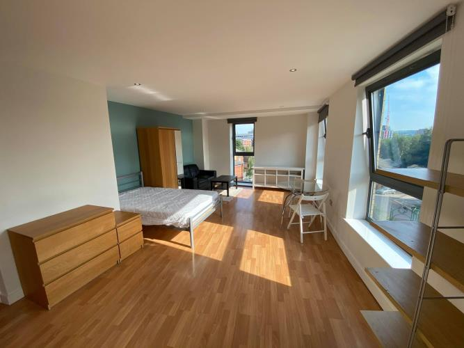 Studio Apartment<br>201 Space, 8 Broomhall Street, City Centre, Sheffield S3 7SY