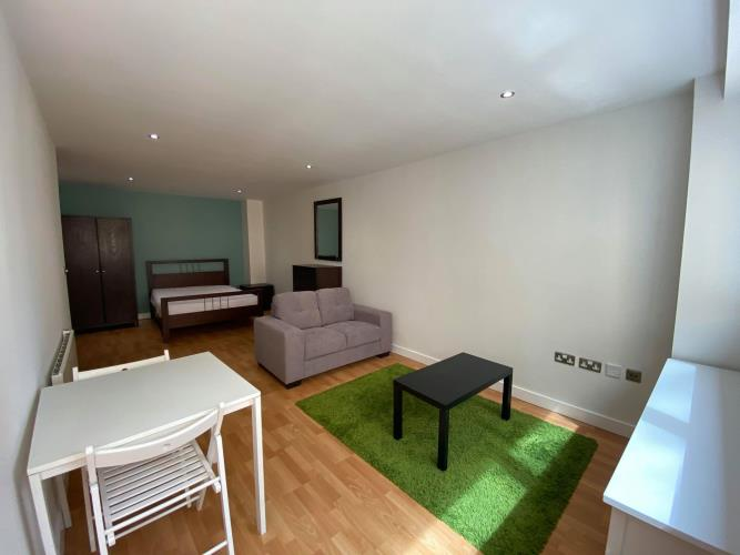 Studio Apartment<br>201 Cube, 8 Broomhall Street, Sheffield, City Centre, Sheffield S3 7SW