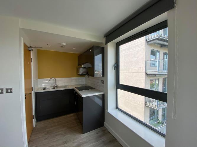 Partitioned Studio, 1 Bedroom Apartment<br>705 Cube, 2 Broomhall Street, Sheffield, City Centre, Sheffield S3 7SW