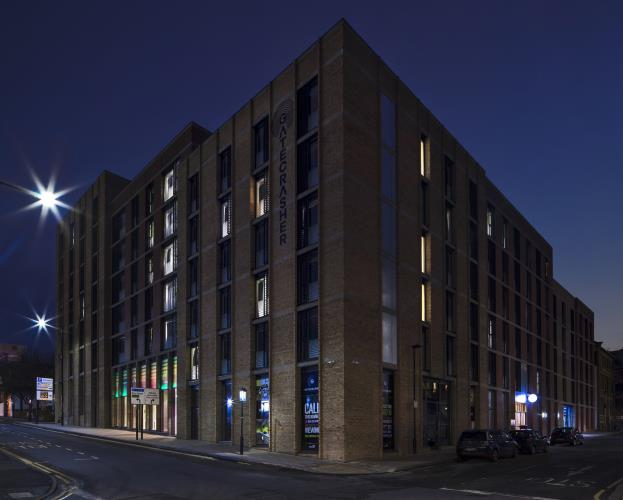 Deluxe Studio, Gatecrasher Apartments<br>104 Arundel Street, City Centre, Sheffield S1 4TH