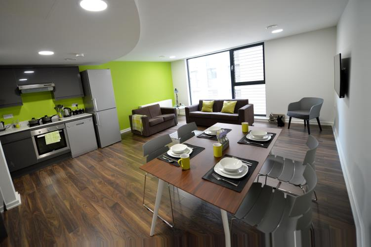 Student Apartments Sheffield City Centre  Rooms