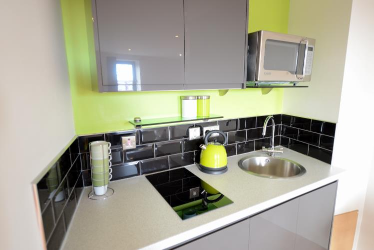 Studio Apartment<br>100 Space, West One, City Centre, Sheffield S3 7SW