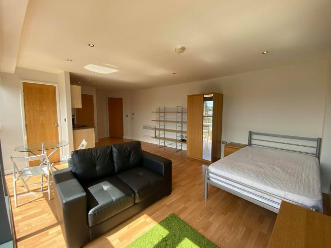 Studio Apartment<br>400 Reflect, West One, City Centre, Sheffield S3 7SW